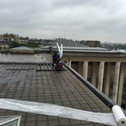 Enseigne Gambetta Paris x Nike - enseigne de toit