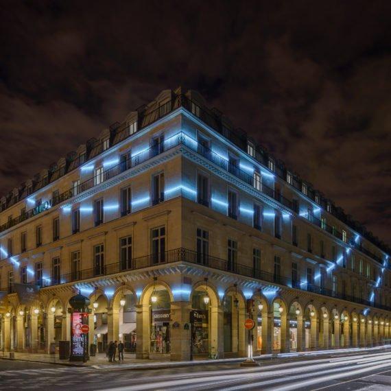Enseigne Gambetta Paris x Mairie de Paris - Eclairage Néon