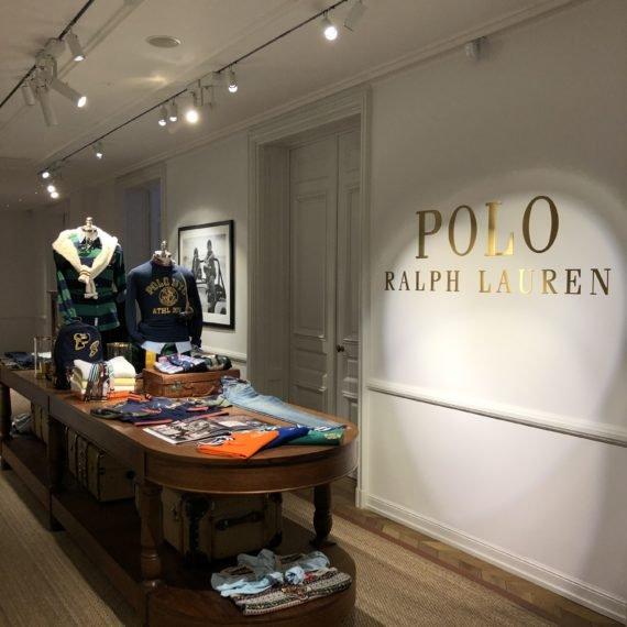 Enseigne Gambetta Paris x Ralph Lauren - Enseigne laiton