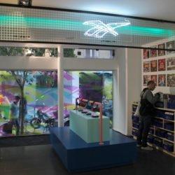 Enseigne Gambetta Paris x Reebok - Enseigne Neon