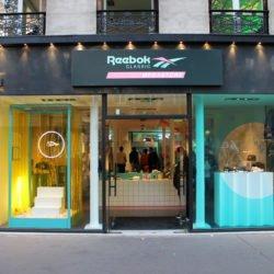 Enseigne Gamnetta Paris x Reebok - Enseigne lumineuse Paris