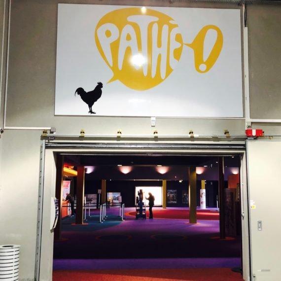 Enseigne Gambetta Paris x Pathé Cinéma - Signalétique panneau alu