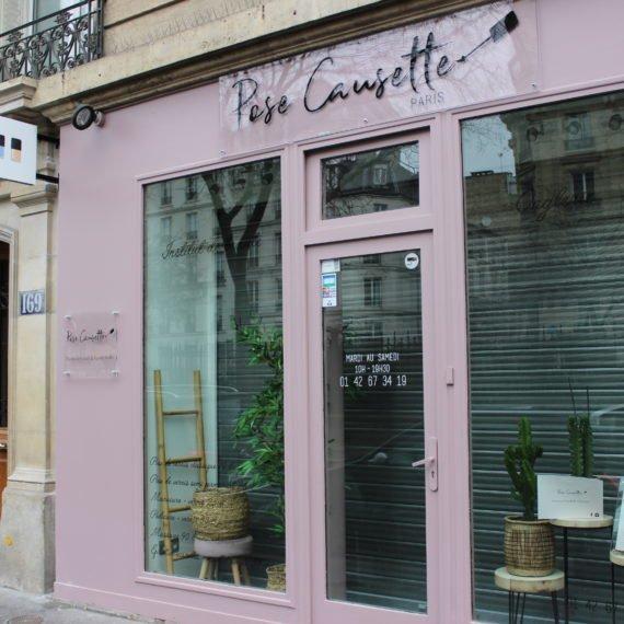 Enseigne Gambetta Paris x Pose  Causette - Enseigne panneau