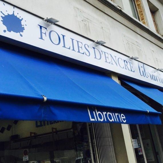 Enseigne Gambetta Paris x Editions Folie d'Encres - Enseigne panneau alu