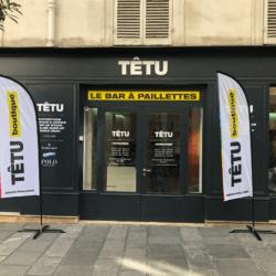 TETU x Enseigne Gambetta Paris - Incarnation complete pop up evenementiel