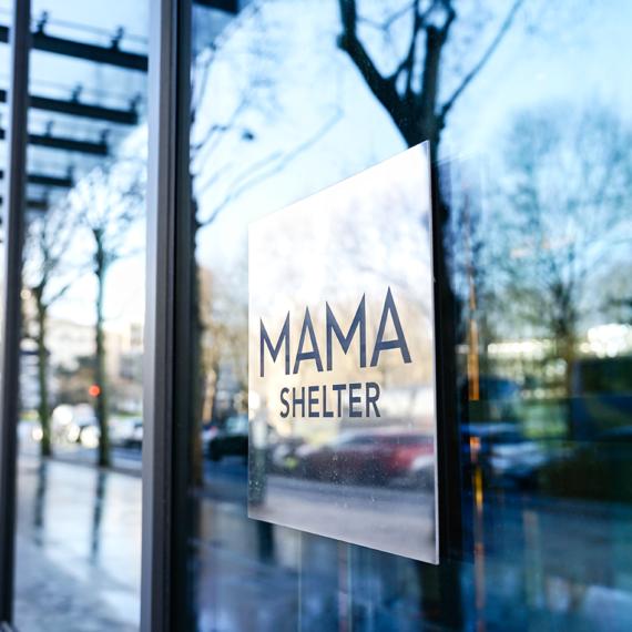 Enseigne Gambetta Paris x mama shelter - Plaque gravée