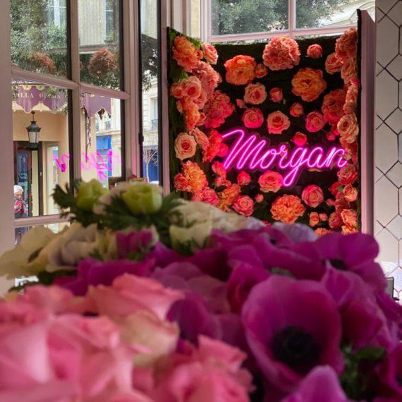 Enseigne Gambetta Paris x Morgan - Neon LED Event