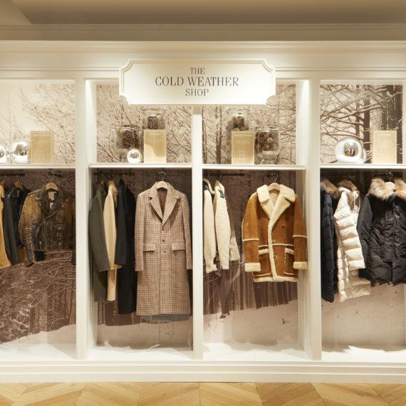 Enseigne Gambetta Paris x Ralph Lauren - Décoration vitrine