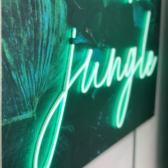 Enseigne Gambetta Paris x Welcome to the jungle - Neon LED