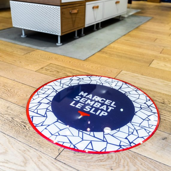 Enseigne Gambetta Paris x Le Slip Francais - Decoration sol