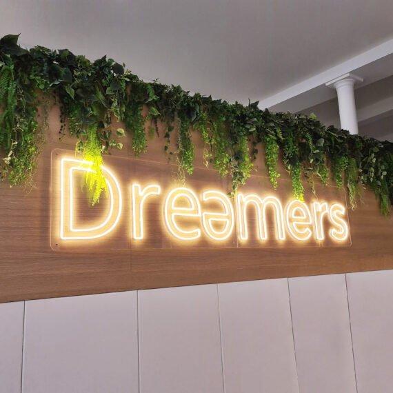 ENSEIGNE GAMBETTA X DREAMERS - NEON LED