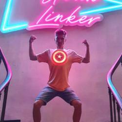 Enseigne Gambetta x Neon-Urban Linker