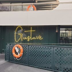 Enseigne néon sur mesure Gustave - Enseigne Gambetta.