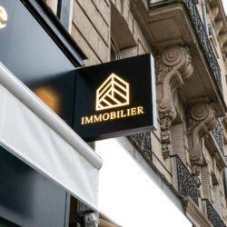 Inestimable x Enseigne Gambetta Paris - Enseigne lumineuse / Enseigne drapeau / Store / Lambrequin