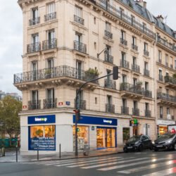 Biocoop Monge x Enseigne Gambetta Paris / Enseigne Bandeau - Enseigne drapeau - Vitrophanie