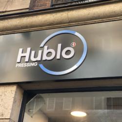 Enseigne Gambetta Paris x Hublo - Lettrage PVC