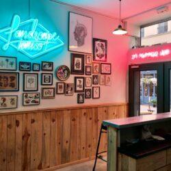 Landscape x Enseigne Gambetta Paris - Neon